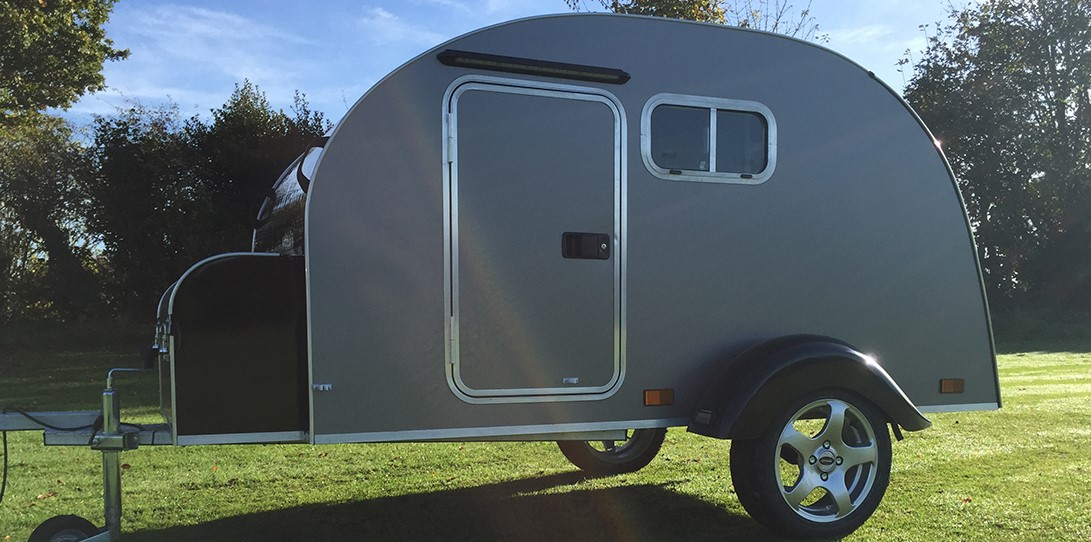 Hire A Teardrop Trailer Camping Pod In Dundee Scotland