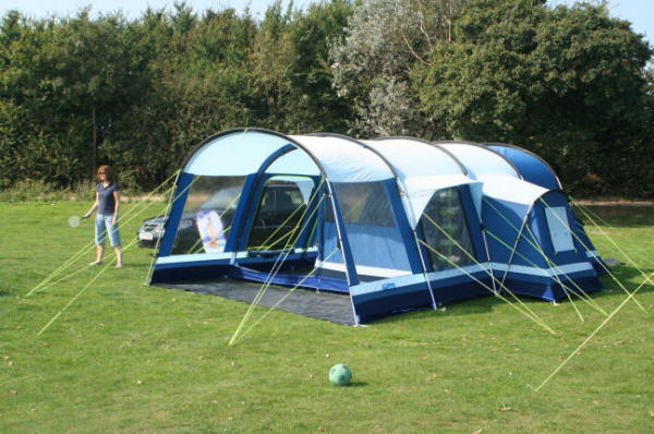The Kampa Filey 6 and in pollycotton available as the Holkham 6